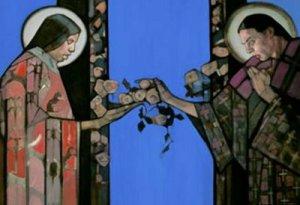 Annunciation by Janet Mckenzie