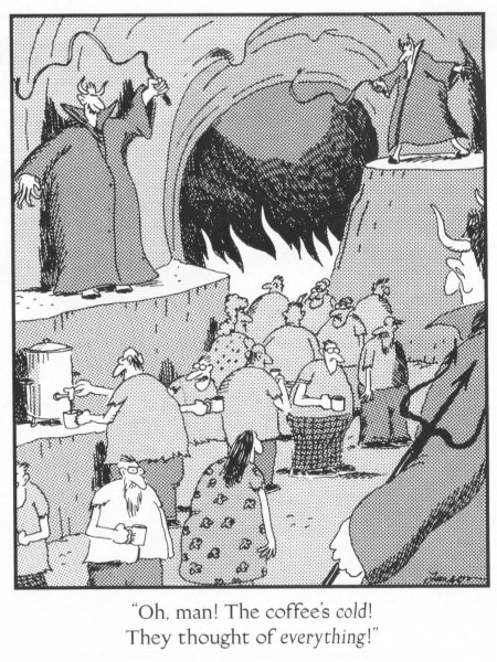 The Far Side, by Gary Larson