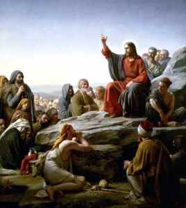 The Sermon on the Mount by Carl Bloch