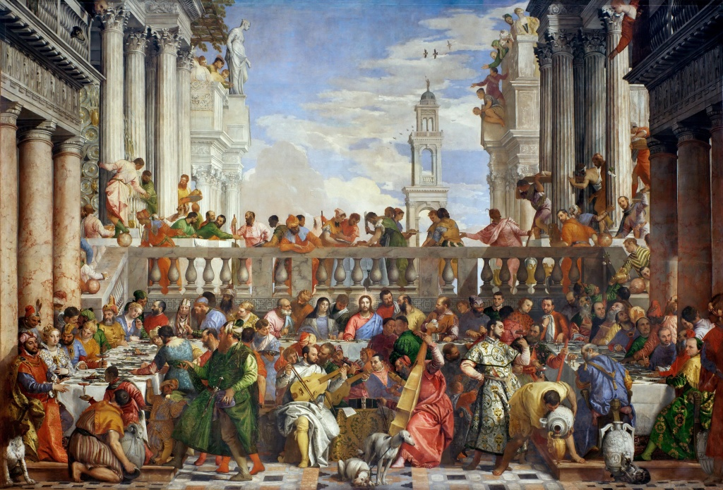 The Wedding at Cana, Paolo Veronese