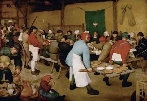 The Peasant Wedding, Pieter Breuegel the Elder